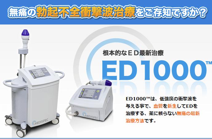 ABCクリニック ED1000(画像引用:メンズヘルスメディカル)