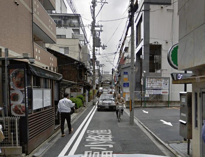 いろはクリニック京都院の通り